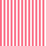 Seamless pattern with pink and white vertical stripes. Vector background Royalty Free Stock Images