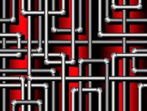 Seamless pattern with pipes Stock Photos