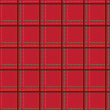 Seamless pattern - plaid Royalty Free Stock Photo