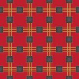Seamless pattern - plaid 5 Royalty Free Stock Photography