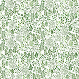 Seamless pattern with plants Royalty Free Stock Images