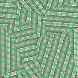 Seamless pattern from playing cards face down. From green and brown stripes. vector illustration