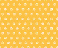 Seamless pattern, polka dot fabric, wallpaper Royalty Free Stock Images