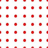 Seamless pattern polka dot. Royalty Free Stock Image