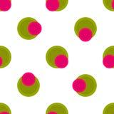 Seamless pattern polka dot Stock Images