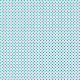 Seamless pattern with polka dots. Texture in the form of a fabri. Seamless pattern in blue and cyan peas. Texture in the form of a fabric Stock Image