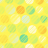 Seamless pattern with polka dots. Vector illustration, template for your decoration and design Stock Photo
