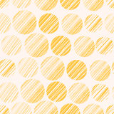 Seamless pattern with polka dots. Vector illustration, template for your decoration and design Stock Image