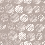 Seamless pattern with polka dots. Vector illustration, template for your decoration and design Stock Photography