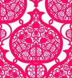 Seamless pattern with pomegranates. Royalty Free Stock Photo
