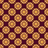 Seamless pattern with precious gem Topaz Royalty Free Stock Photography