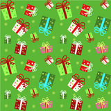 Seamless pattern with present. Stock Images