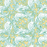 Seamless pattern for print textile design or paper wrapping. Merry Christmas doodles ornaments vector illustration