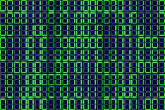 Informatics Background green 1 and 0. Vector program code on green background. Seamless pattern with program code on green background Stock Photo