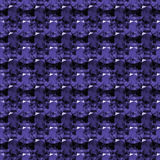 Seamless pattern of purple amethyst Royalty Free Stock Photos