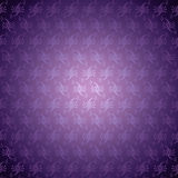 Seamless Pattern Purple East Spray Stock Photo