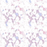 Seamless pattern with purple flowers. Pastel Stock Photos