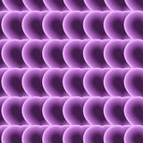 Seamless pattern of purple hearts. Psychedelic. Optical illusion Royalty Free Stock Photo