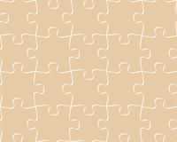 Seamless pattern puzzle Royalty Free Stock Images