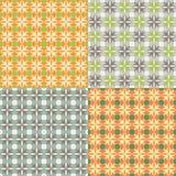 Seamless pattern Quatrefoil Stock Image