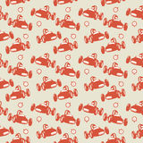 Seamless pattern, race theme Royalty Free Stock Photography