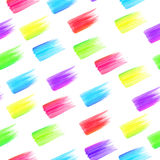 Seamless pattern rainbow colorful stains Stock Photos
