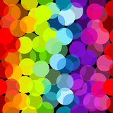 Seamless pattern in rainbow colors Royalty Free Stock Photos