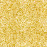 Seamless pattern with random abstract cross grid Royalty Free Stock Photo