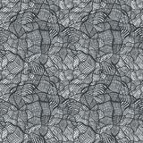 Seamless pattern with random abstract cross grid Stock Photos