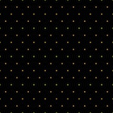 Seamless pattern of random golden dots on black background. Elegant pattern for background, textile and other design. Stock Image