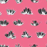 Seamless pattern with random marker scribbles Royalty Free Stock Photo