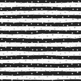 Seamless pattern of random silver dots Royalty Free Stock Photography