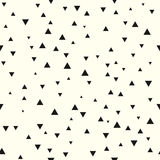 Seamless pattern with random triangles. Festive texture repeating geometric tiles Royalty Free Stock Image