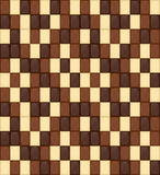 Seamless Pattern. Realistic Chocolate Bar Pieces. Milk, Dark, Wh Royalty Free Stock Photography