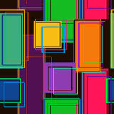 Seamless pattern of rectangles Royalty Free Stock Photography