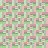 Seamless pattern of rectangles of different sizes. Royalty Free Stock Photos