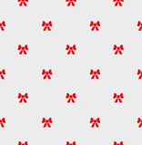 Seamless pattern red bow. Royalty Free Stock Images