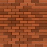 Seamless Pattern of Red Brick. Vector Stock Images