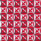 Seamless pattern in red colors Royalty Free Stock Photos