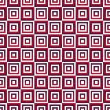Seamless  pattern with red gradient squares Stock Images