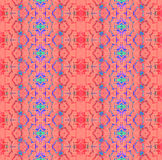 Seamless pattern red purple blue mint Royalty Free Stock Photos