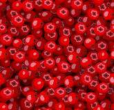 Seamless pattern with red rowan berries.  Stock Photos
