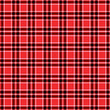 Seamless pattern red tartan vector Royalty Free Stock Photo