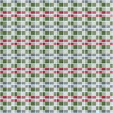 Seamless pattern reminded Scottish fabric. Royalty Free Stock Images