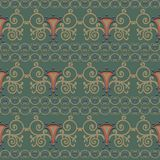 Seamless pattern reminiscent of ancient Rome. Styling. Royalty Free Stock Photos