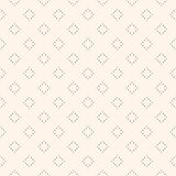 Seamless pattern, repeat rhombuses. Diamonds pattern. Vector seamless pattern, monochrome minimalist texture with simple figures, small dotted shapes, repeat Royalty Free Stock Photography