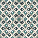 Seamless pattern with repeated geometric forms. Ornamental abstract background. Ethnic and tribal motifs. Royalty Free Stock Images