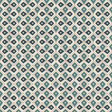 Seamless pattern with repeated geometric forms. Ornamental abstract background. Ethnic and tribal motifs. Royalty Free Stock Photo