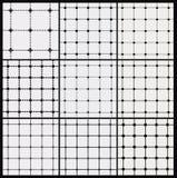 Seamless Pattern, Repeating Geometric Squares. Stock Photos