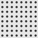Vector seamless pattern resembling vintage radio Stock Photography